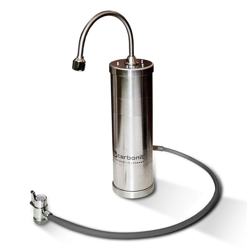 SANUNO INOX Wasserfilter (Mit Filterpatrone)